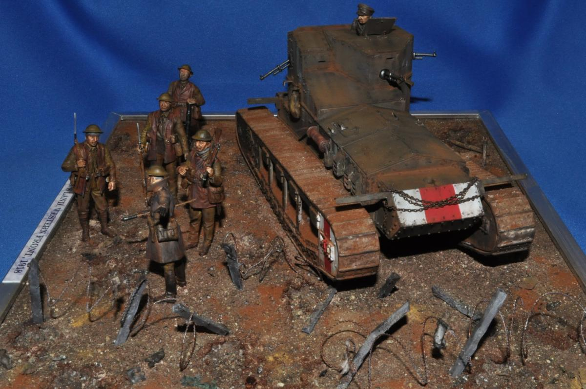 Mk A Whippet tank - Armor - IPMS/USA Forums