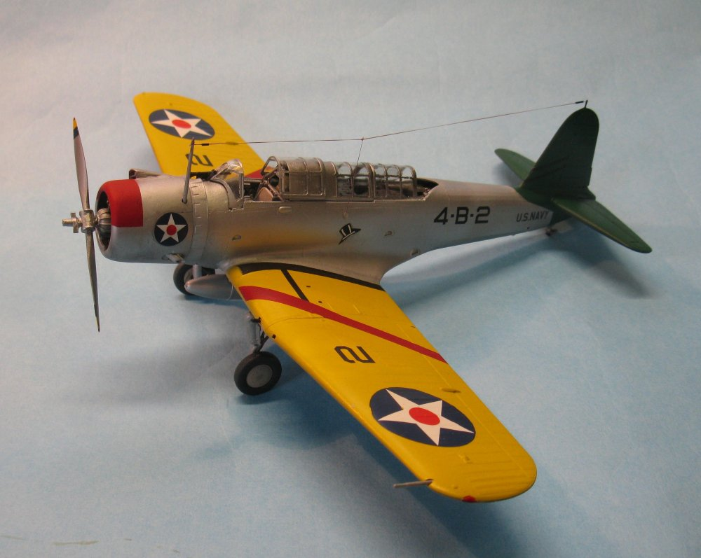 SB2U-1 Vindicator Accurate Miniatures 480200-left side.jpg