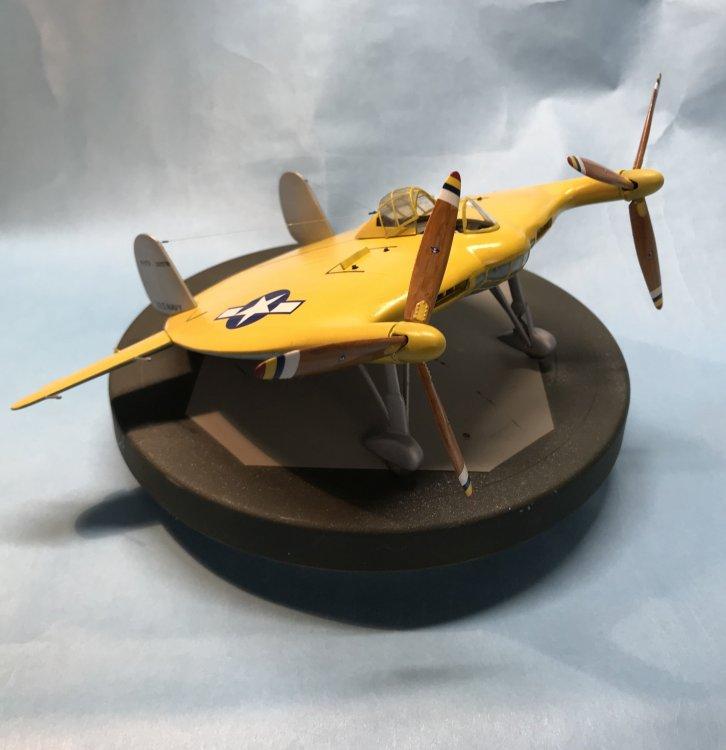 V-173 Flying Pancake Special Hobby SH48121-Rgt  Front.jpg